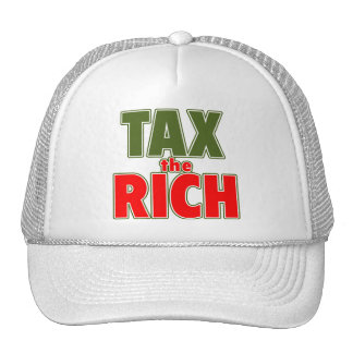 TAX THE RICH T-shirts, Stickers, Buttons Mesh Hat