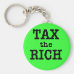 Tax the Rich Tshirts, Buttons Keychain