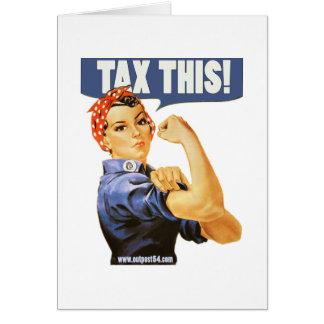 TAX THIS CARD