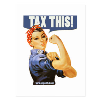 TAX THIS POST CARD