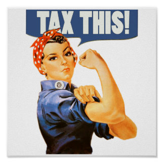 TAX THIS POSTER