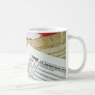 Tax Time Classic White Coffee Mug