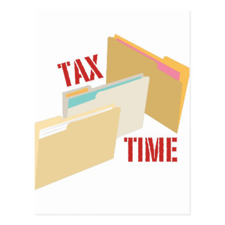Tax Time Postcard