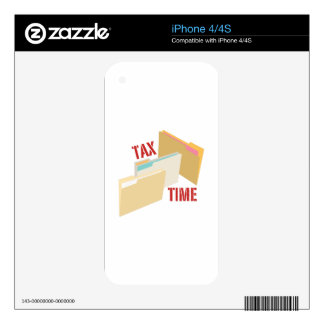 Tax Time Skin For The iPhone 4