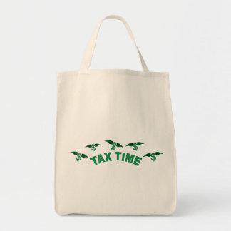 Tax Time Tote Bag