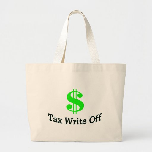 Tax Write Off Canvas Bags