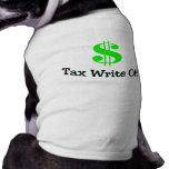 Tax Write Off Doggie Tshirt