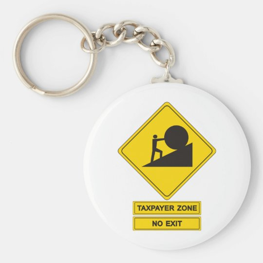 Tax Zone Keychain