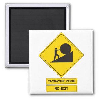 Tax Zone Fridge Magnets