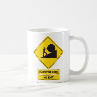 Tax Zone Classic White Coffee Mug