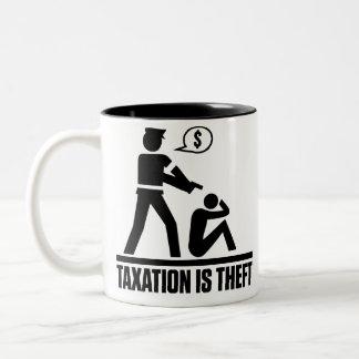 Taxation Is Theft Mugs