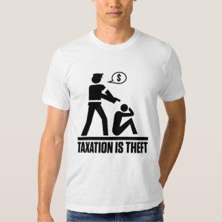 Taxation Is Theft Shirt