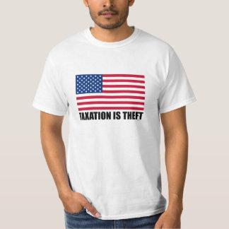 TAXATION IS THEFT - USA T-Shirt