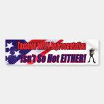 Taxation With Representation Bumper Sticker