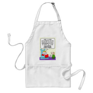taxation without representation cultural heritage adult apron
