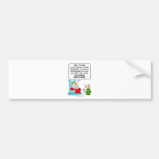 taxation without representation cultural heritage bumper sticker