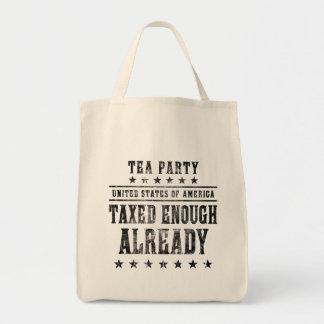 Taxed Enough Already Bag