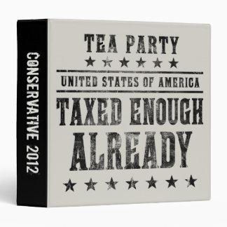 Taxed Enough Already Binder