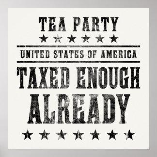 Taxed Enough Already Poster