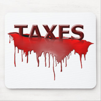 Taxes2 copy mouse pad