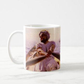 Taxi 1886 del agua taza de café
