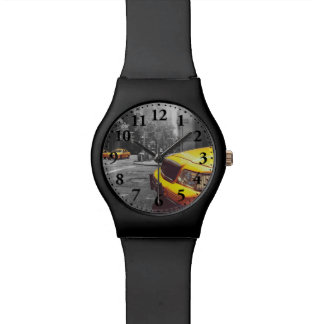 Taxi amarillo 01 reloj