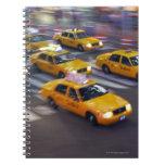 Taxi amarillo de Nueva York Cuadernos