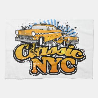 Taxi amarillo de Nueva York Toalla