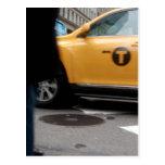 Taxi amarillo New York City Postales