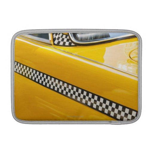 Taxi antiguo fundas macbook air