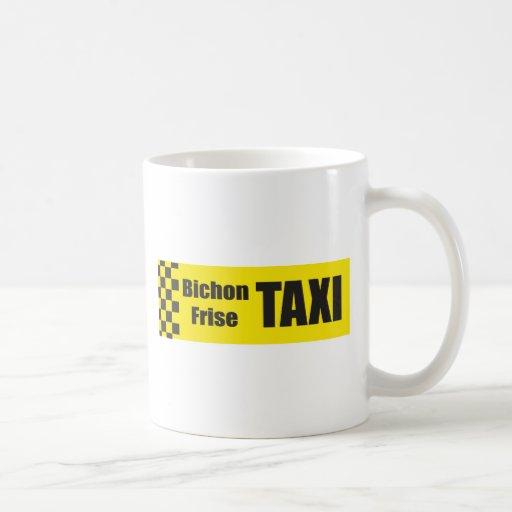 Taxi Bichon Frise Taza De Café