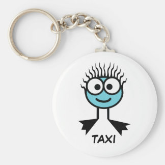 TAXI - Blue Swim Character Keyring Keychain