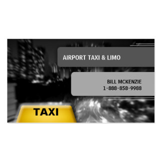 Taxi Business Card Cab 2
