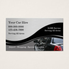 Taxi Business Cards at Zazzle