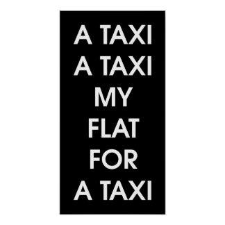 Taxi by Leslie Peppers [UK Version] Poster