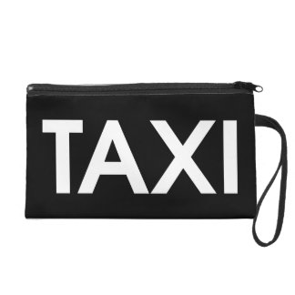 Taxi by Leslie Peppers Wristlet