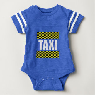 Taxi Cab Baby Bodysuit