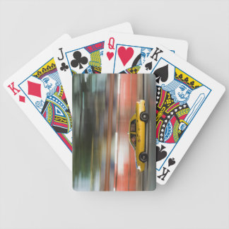 Taxi Cab Bicycle Playing Cards