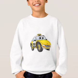 Taxi Cab Cartoon Sweatshirt