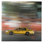 Taxi Cab Ceramic Tile