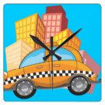 Taxi Cab Clock