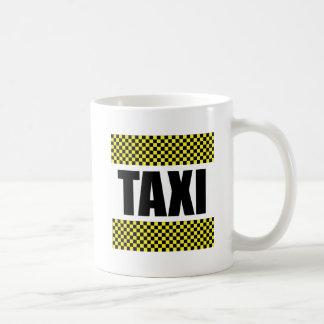 Taxi Cab Coffee Mug