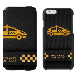Taxi Cab Driver Company iPhone 6/6s Wallet Case