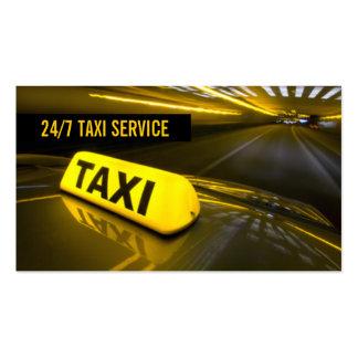 Taxi, Cab, Driver, Transportation Business Card