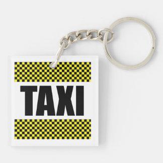 Taxi Cab Keychain