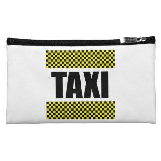Taxi Cab Makeup Bag