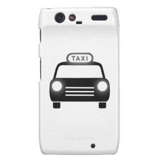 Taxi Cab Motorola Droid RAZR Cover