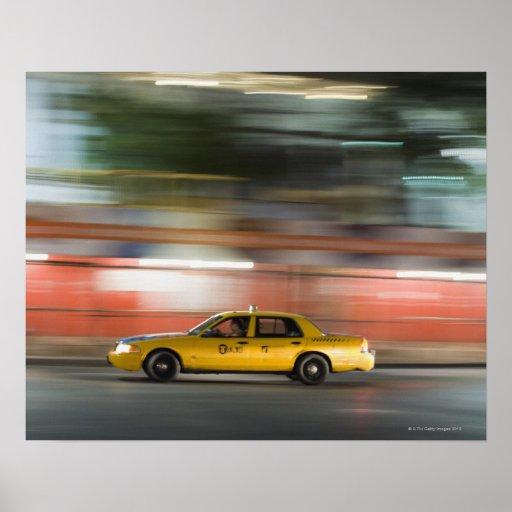 Taxi Cab Poster