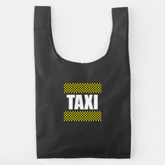 Taxi Cab Reusable Bag