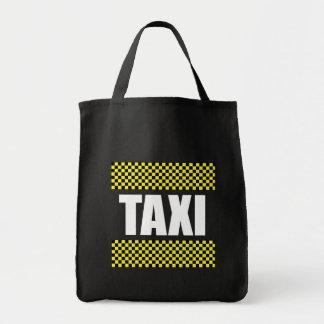 Taxi Cab Tote Bag